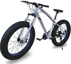 Bicicleta Fat Bike Todoterreno Riscko con Ruedas de 26×4 Pulgadas