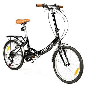 Bicicleta Plegable Moma Bikes First Class 2 AZ.