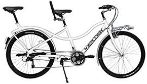 Bicicleta Tandem VERTEK 26″ DREAM 21 Velocidad Blanco.