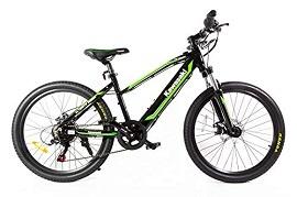 Eléctrica con pedaleo asistido amortiguado 24 KX y Teen