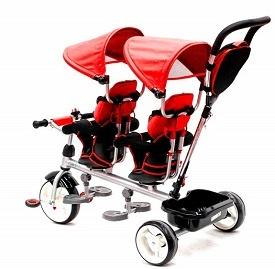 QPLAY Triciclo Evolutivo Gemelar Giro