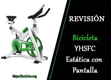 Bicicleta YHSFC Estática con Pantalla