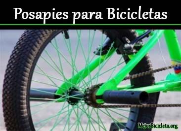 Posapies para Bicicletas