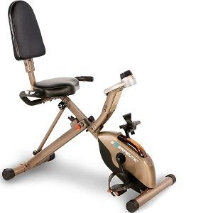 Bicicletas Estáticas Plegables Exerpeutic GOLD 525XLR